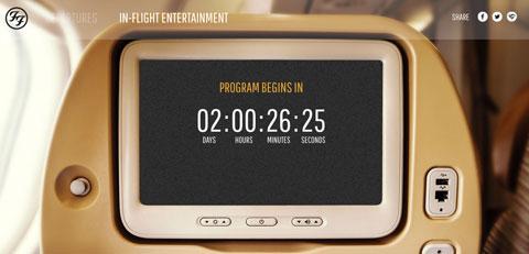 Foo Fighters countdown on website