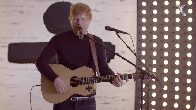 Ed Sheeran Performs Acoustic Version Of Divide Album Track
