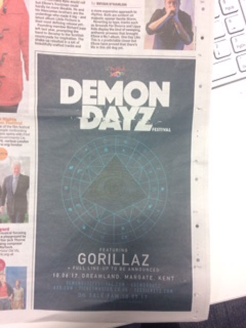 Gorillaz Demon Dayz Metro article picture