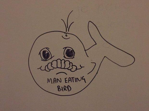 """""""Man Eating Bird"""""""