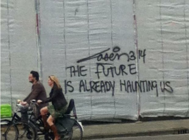 """The Future Is Already Haunting Us"""