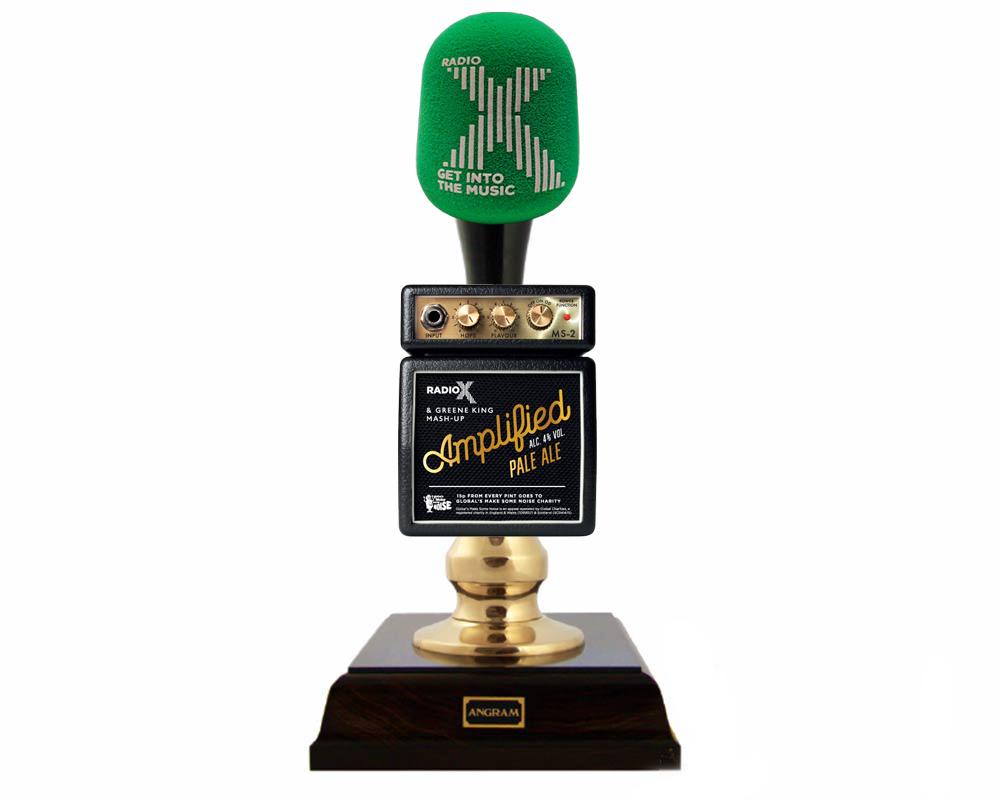 Radio X Beer Pump