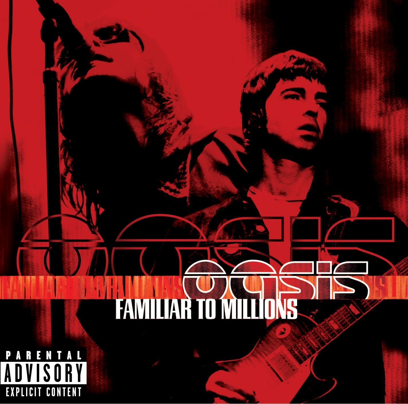 Oasis - Familiar To Millions cover