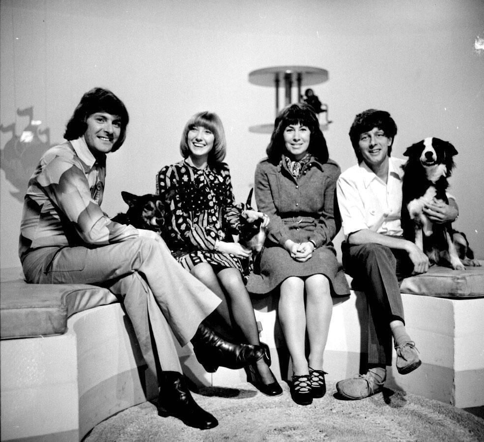 Blue Peter team 1972