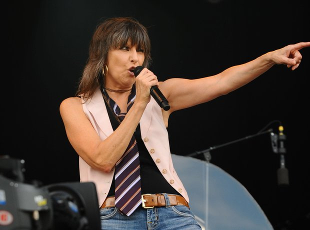 Chrissie Hynde The Pretenders live 2015