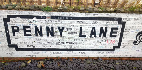 Penny Lane Google Earth Tour