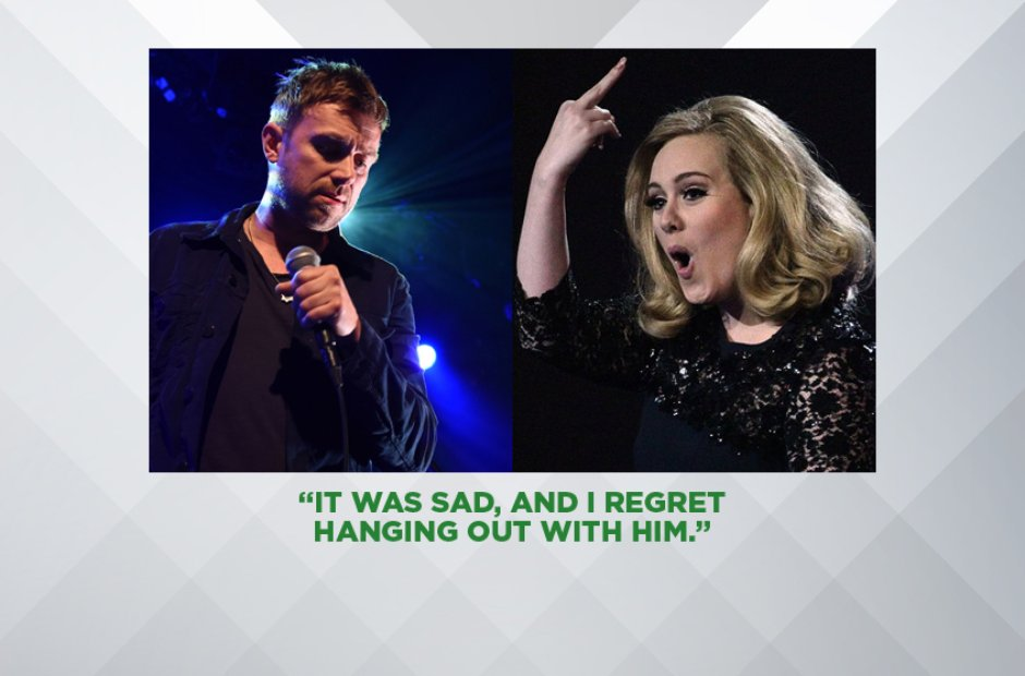 Adele on Damon Albarn
