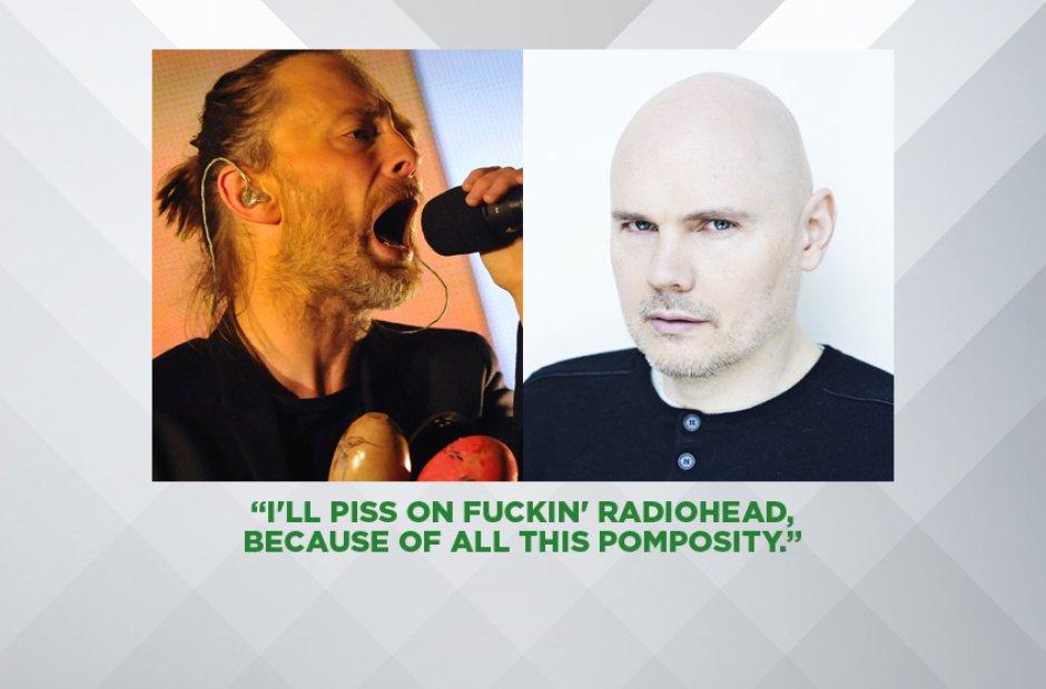 Billy Corgan on Radiohead