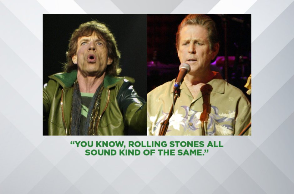Brian Wilson on The Rolling Stones