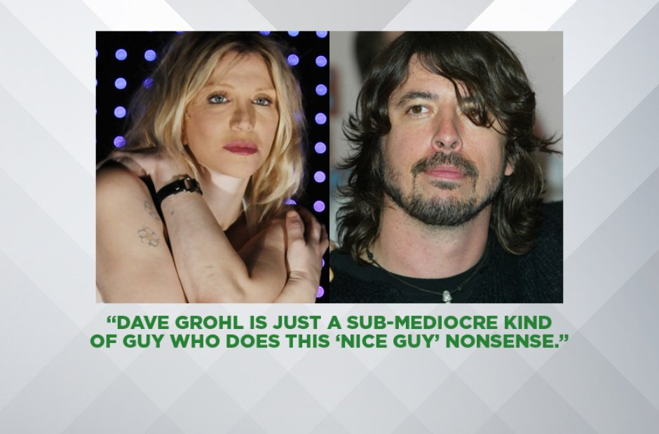 Courtney Love on Dave Grohl