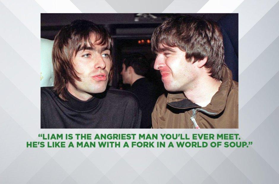 Noel Gallagher On Liam Gallagher