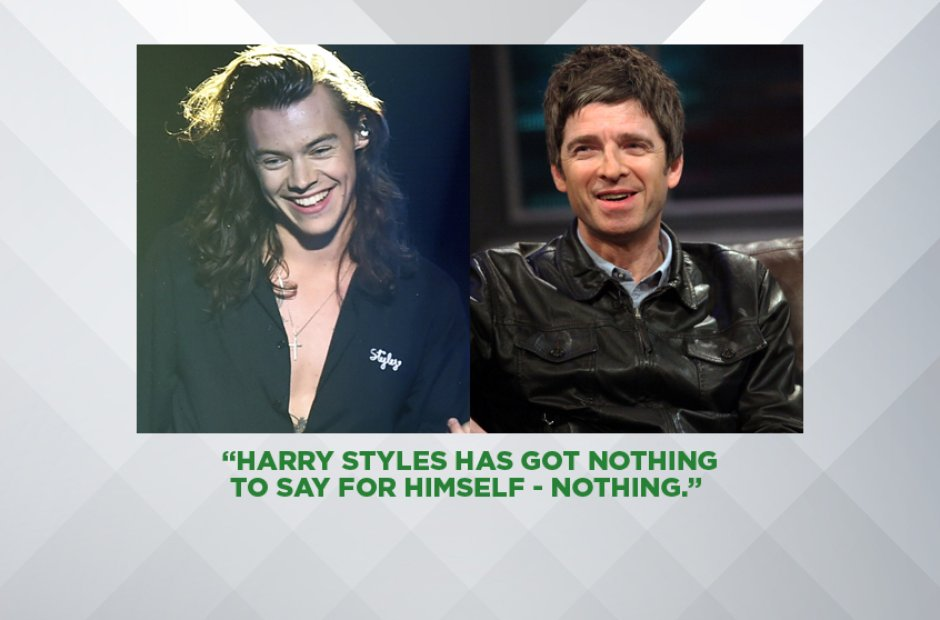 Noel Gallagher on Harry Styles