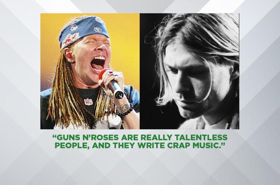Kurt Cobain On Guns N' Roses