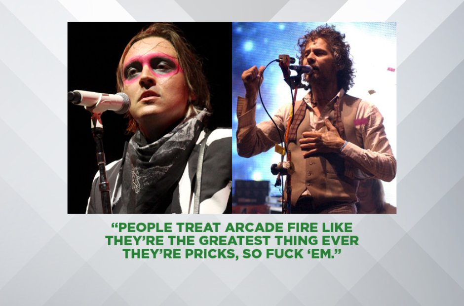 Wayne Coyne of The Flaming Lips on Arcade Fire