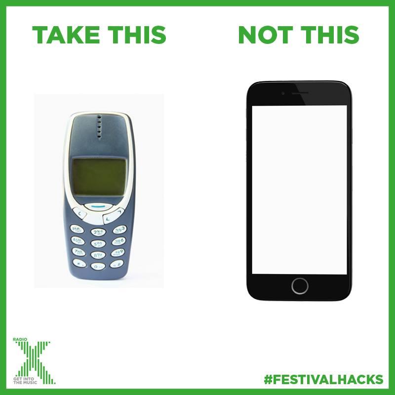 Festival phone meme