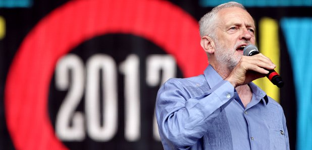 Image result for jeremy corbyn glastonbury chant