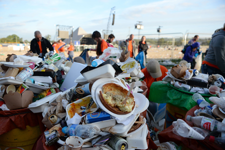 Glastonbury Clean Up 2017