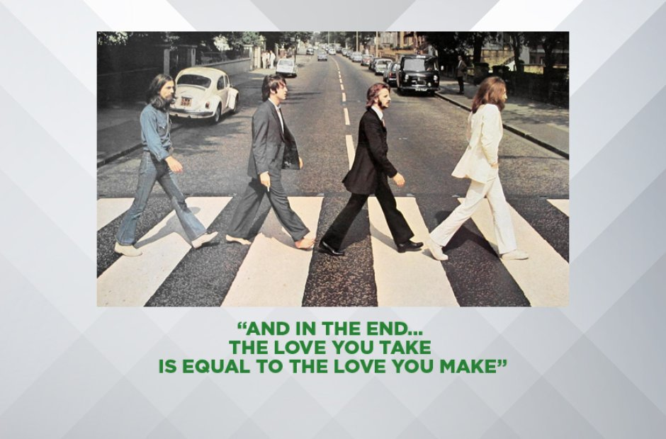 The End, 1969 - The Best Lennon And McCartney Beatles Lyrics