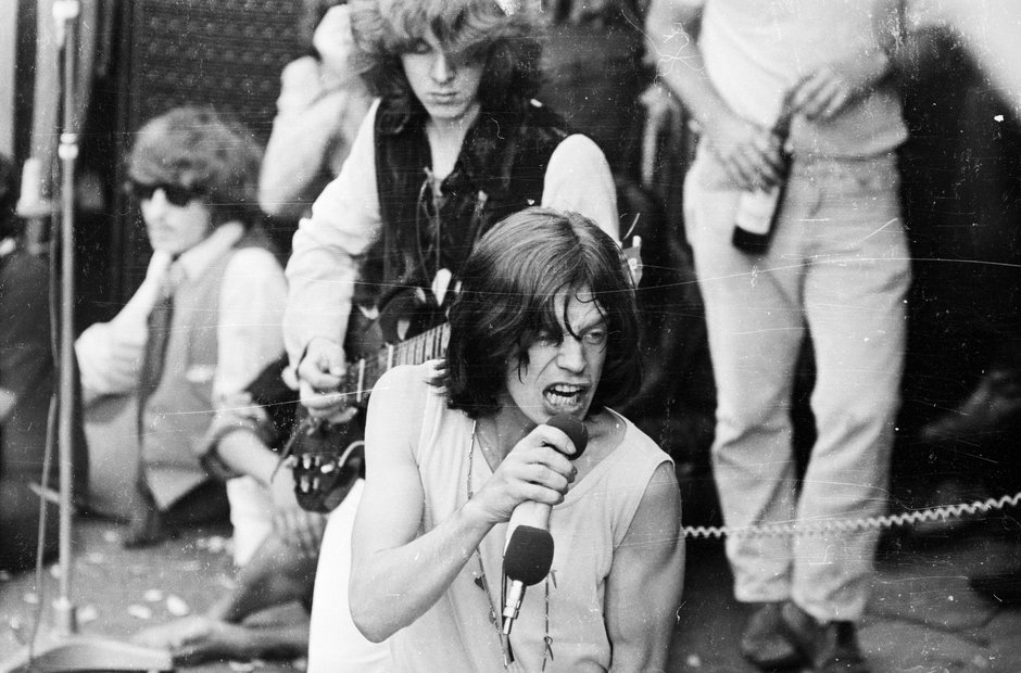 The Rolling Stones at Hyde Park 1969