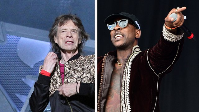 PHOTO: See Mick Jagger And Skepta In The Studio Together