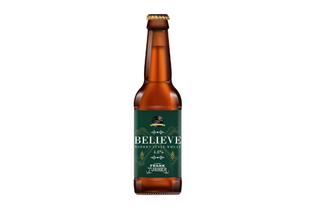 Frank Turner Believe beer