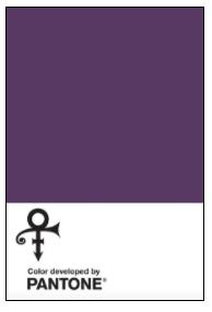 Prince's Pantone colour Love Symbol #2