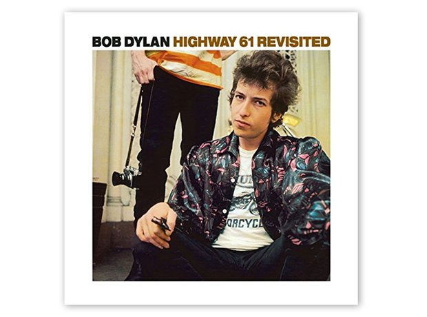 Bob Dylan Highway 61 Revisited album artwork
