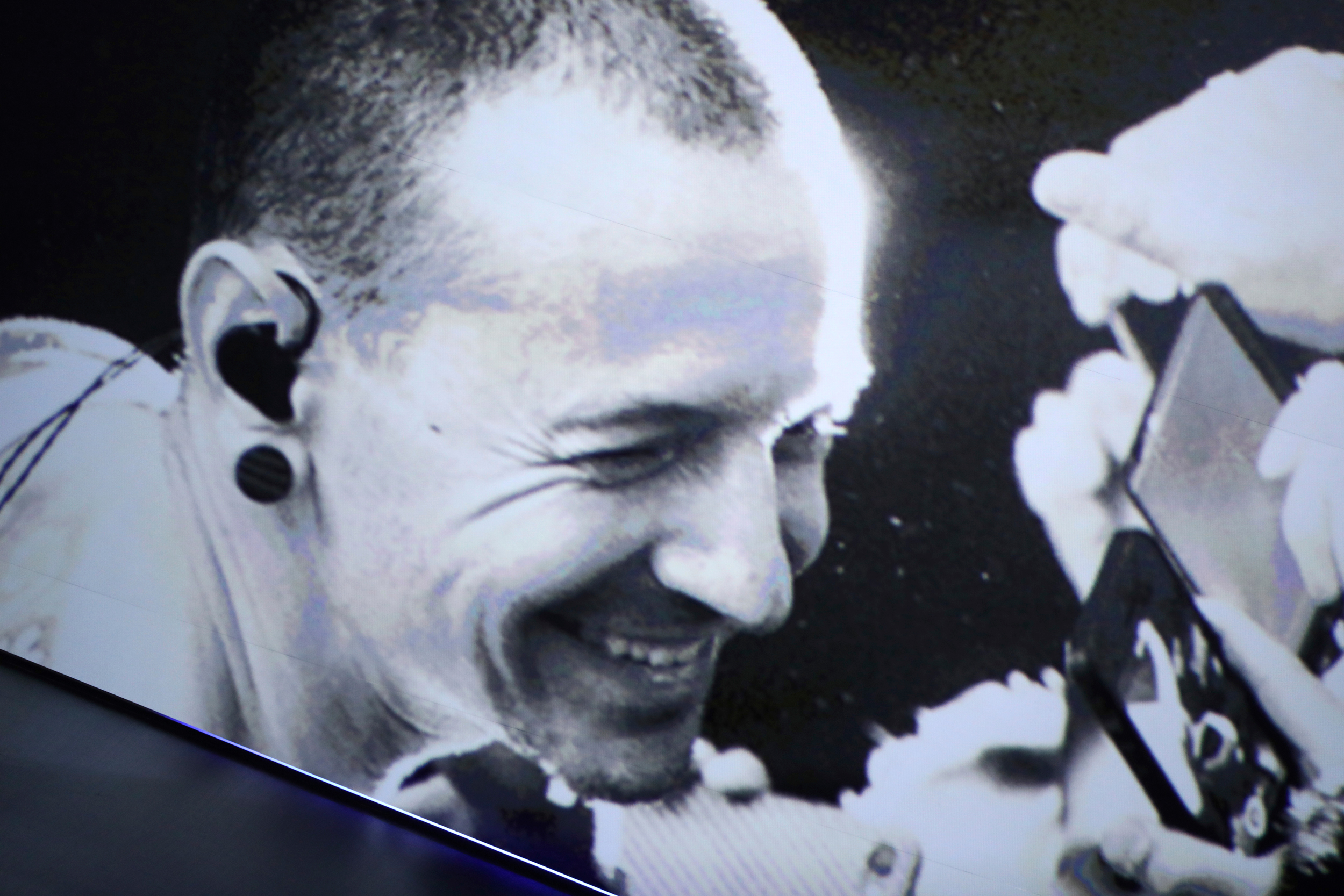 Chester Bennington Linkin Park MTV VMA