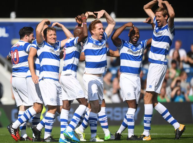 Team Ferdinand celebrate winning the match!
