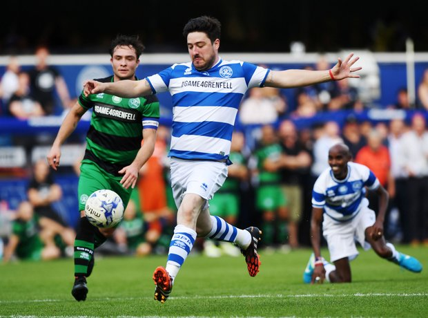 Marcus Mumford was captain of Team Ferdinand