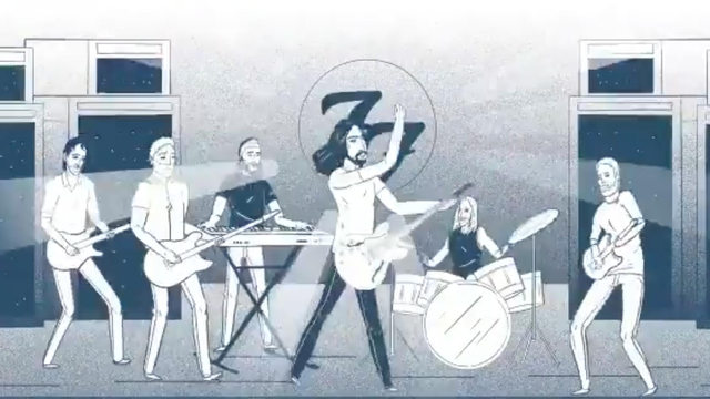 Watch Foo Fighters Share Concrete And Gold Animated Trailer