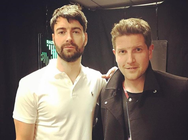 Liam Fray and Dan O'Connell at We Are Manchester