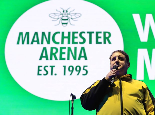 Peter Kay We Are Manchester
