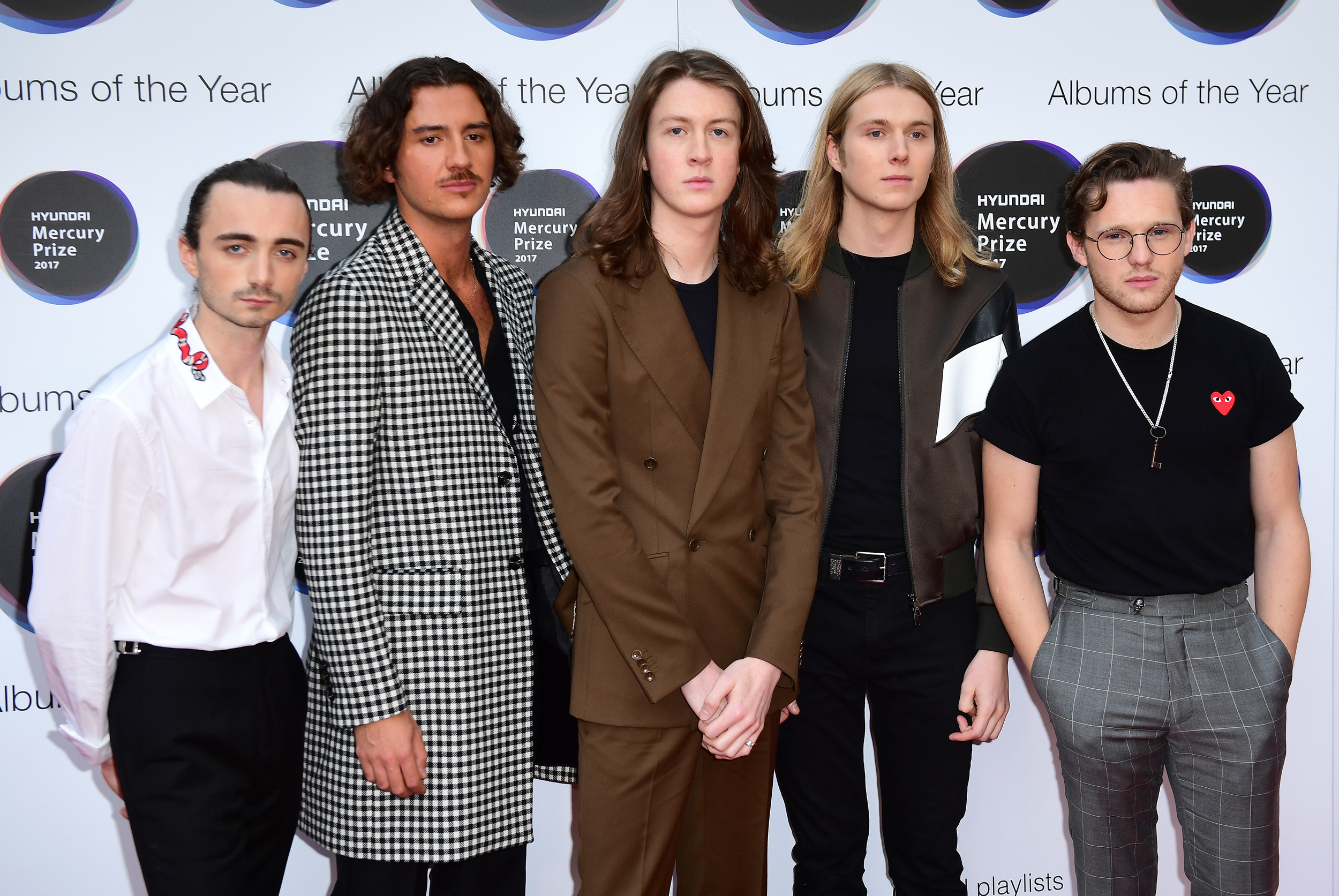 Blossoms Mercury Prize 2017
