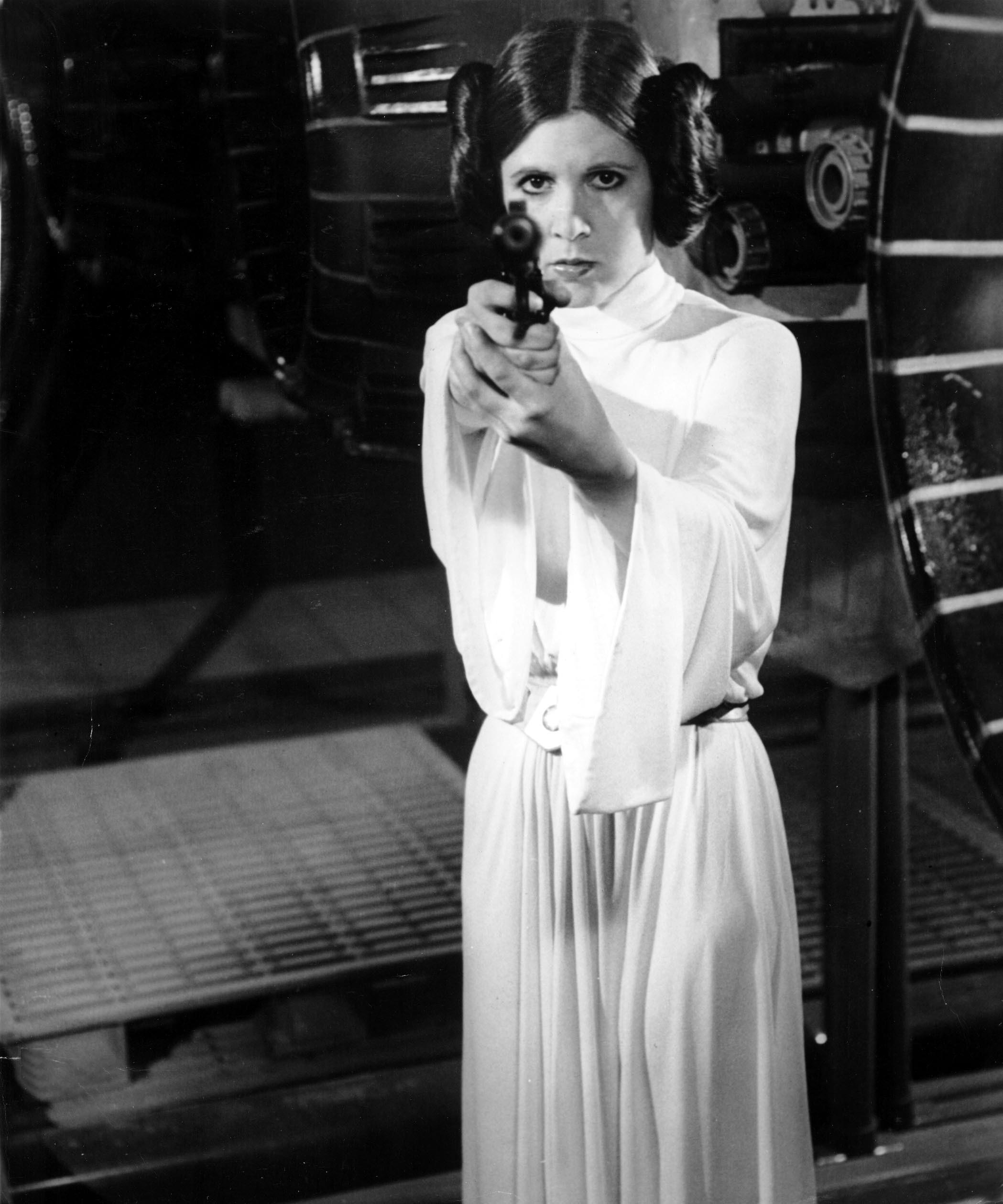 Carrie Fisher Princess Leia Star Wars