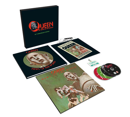 Queen 40th anniversary News of The World boxset