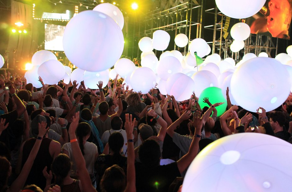 Arcade Fire, Coachella, 2011