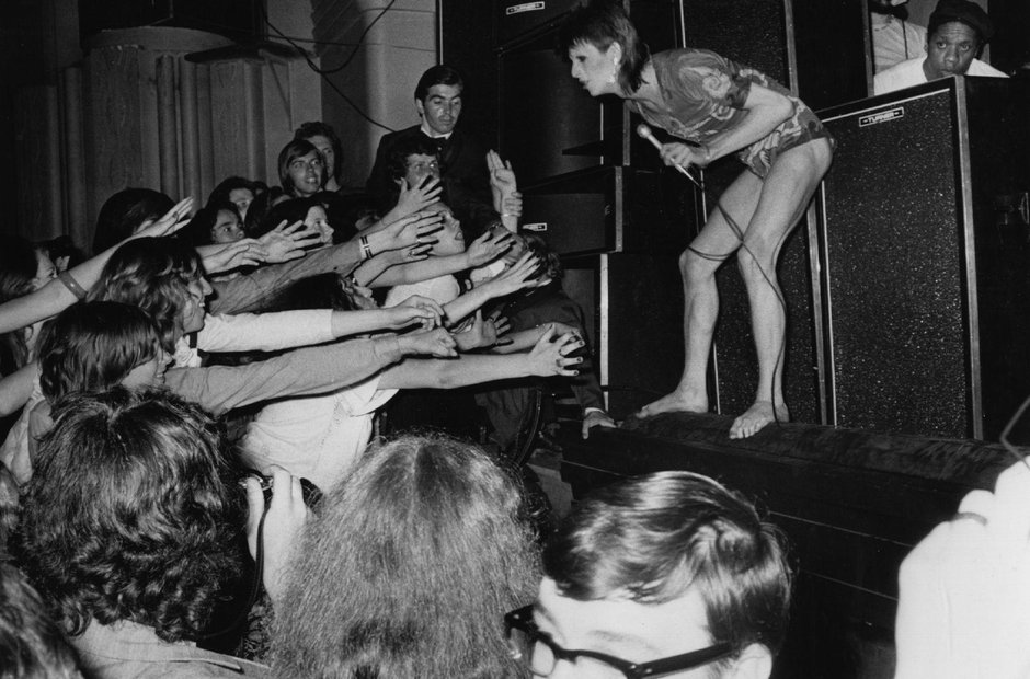 David Bowie, Hammersmith, 1973