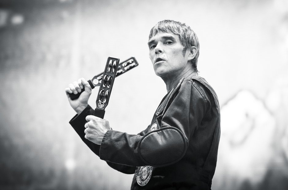 Ian Brown, The Stone Roses, Finsbury Park