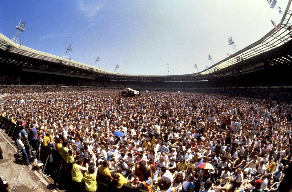 Live Aid, Wembley Stadium, 1985