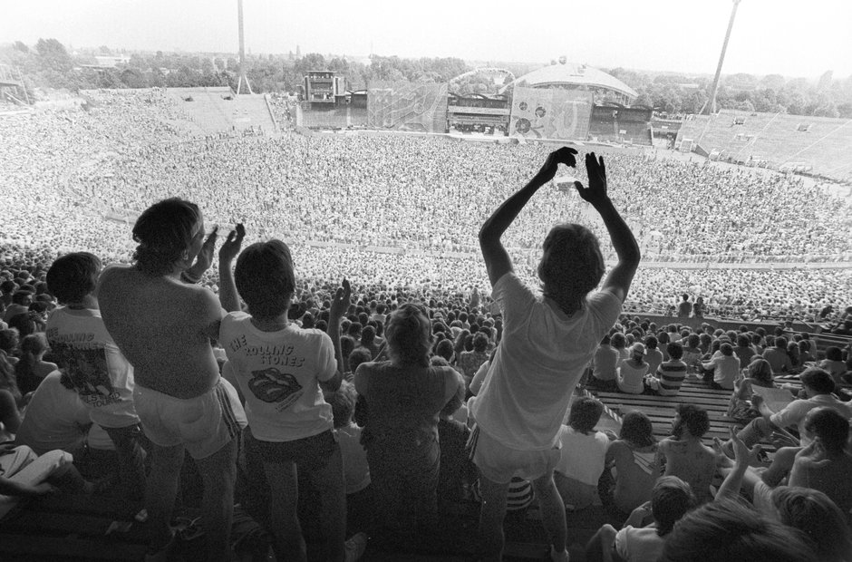 The Rolling Stones, Germany. 1982