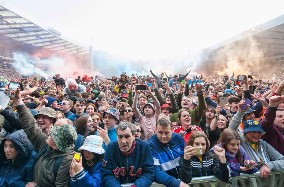 The Stone Roses, Glasgow, 24 June 2017