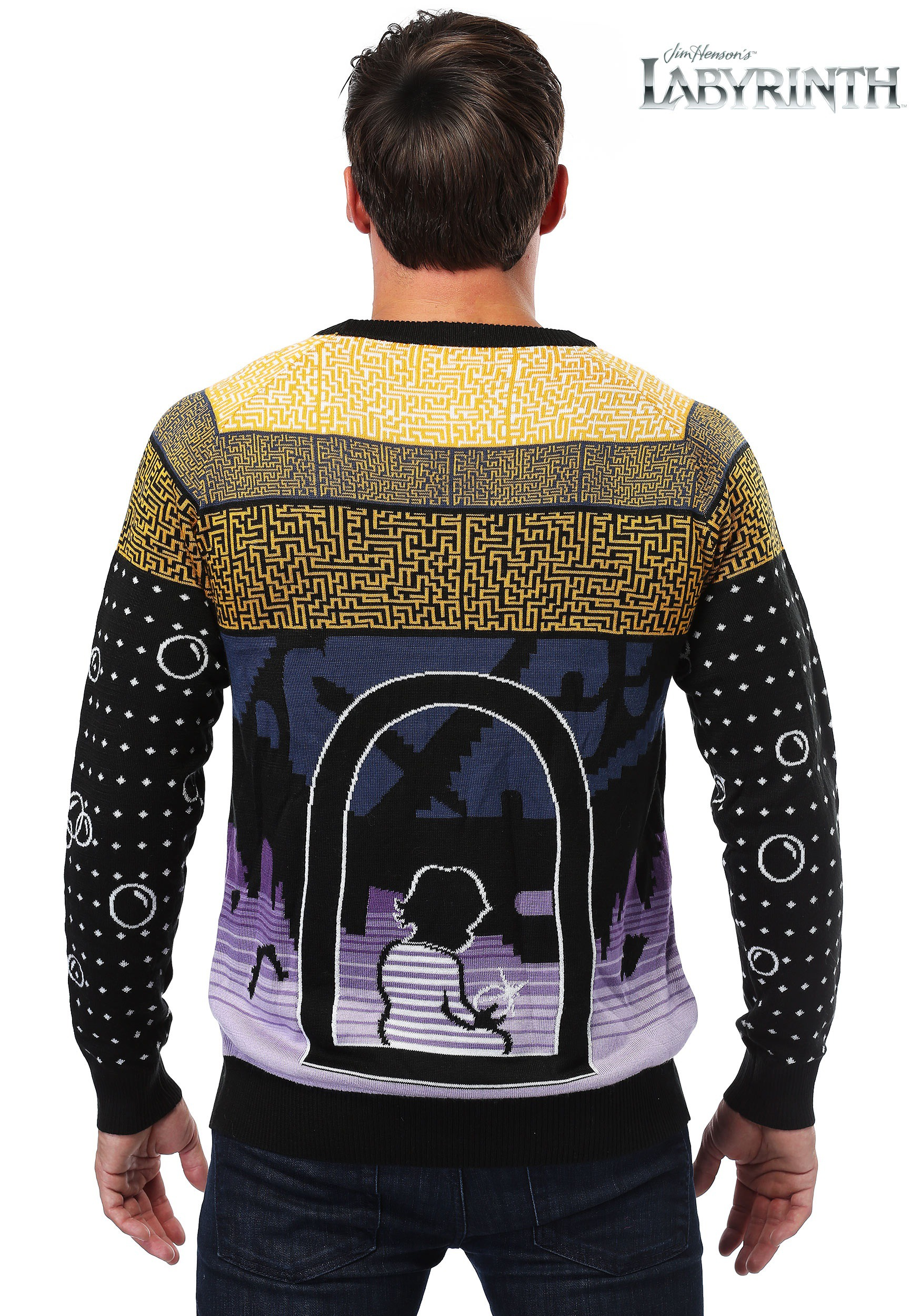 Labyrinth Christmas Jumpers