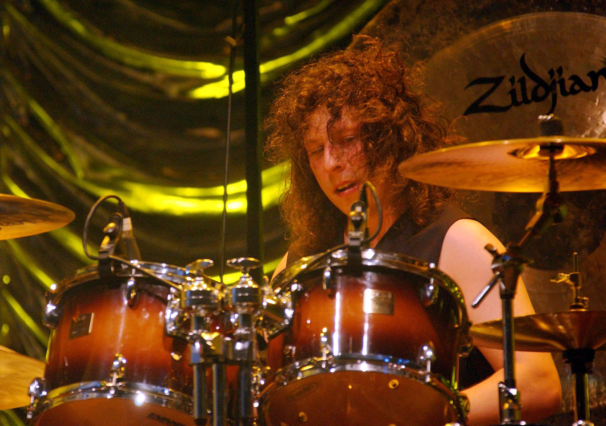 Stereophonics' late drummer Stuart Cable in 2002