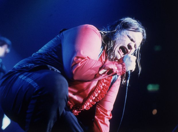 Meat Loaf performing in 1985 Getty
