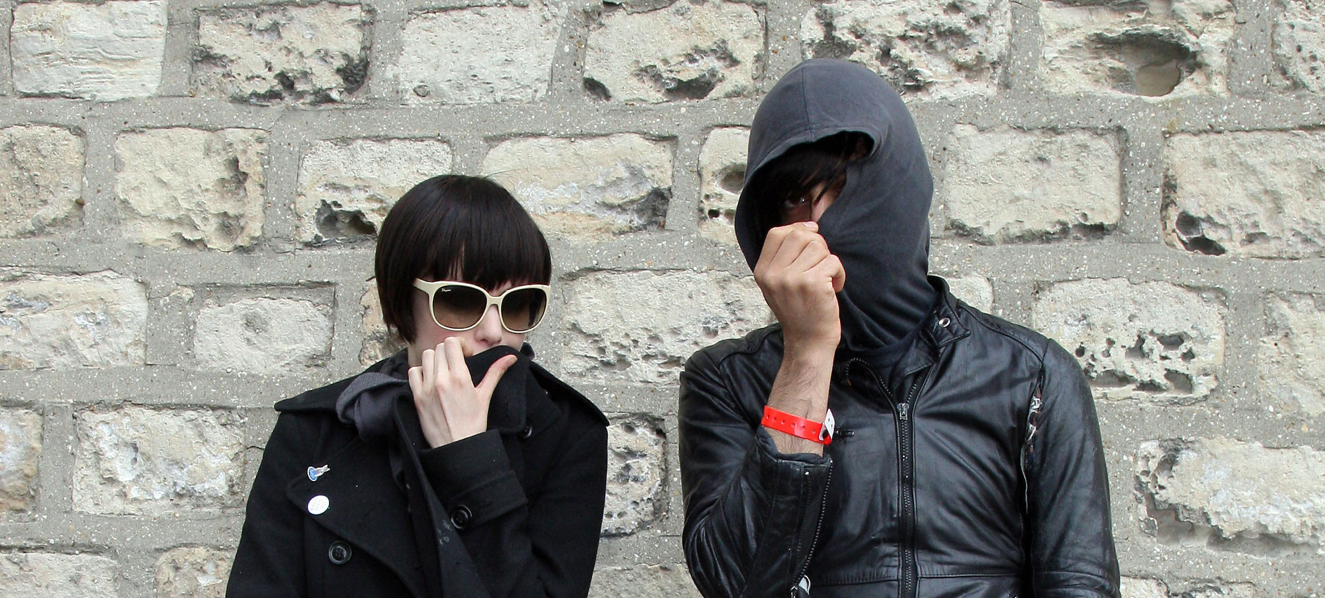 Crystal Castles Alice Glass and Ethan Kath