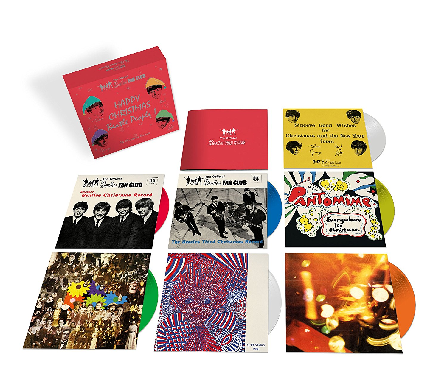 Beatles Christmas Records Box Set