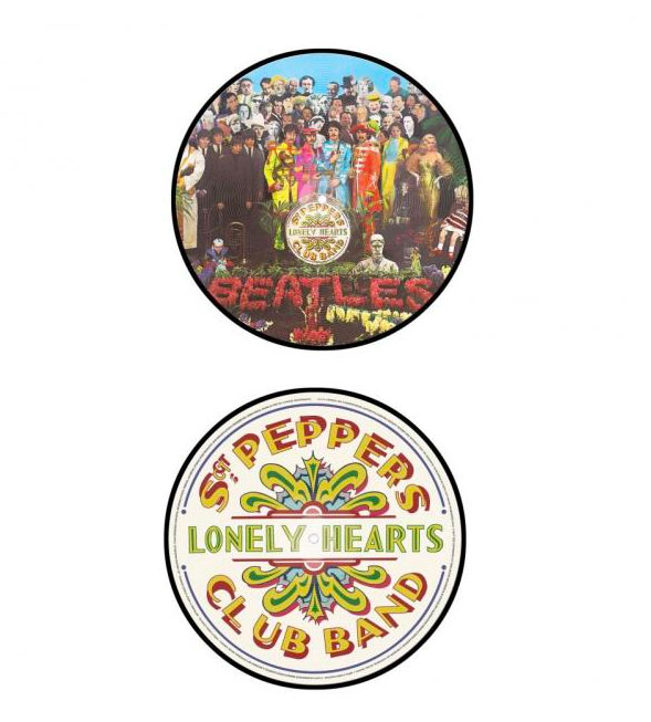 Beatles Sgt Pepper Picture Disc