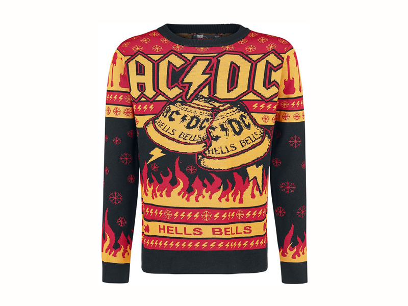 acdc christmas jumper