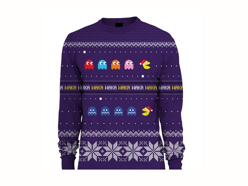 Pac Man Christmas Jumper